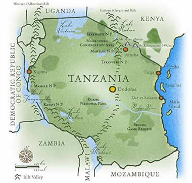 map_tanzania